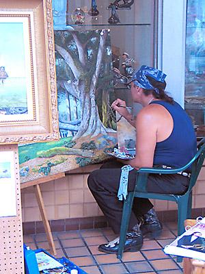 [street artist]
