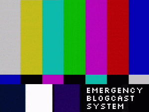 [emergency blogcast system]