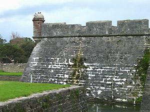 [the Castillo de San Marcos]