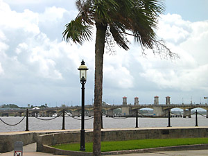 [view from Castillo de San Marcos]