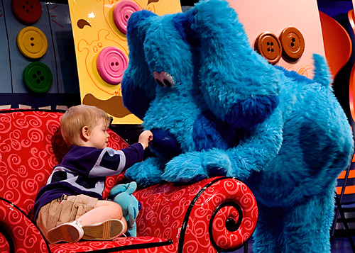 [another Blues Clues day hooray]