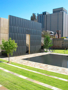 [Oklahoma City bombing memorial East Gate]