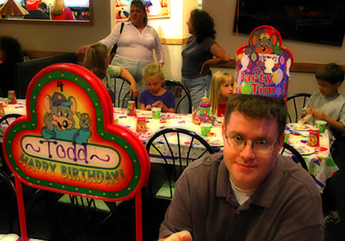 [Todd 2003 birthday celebration photos]